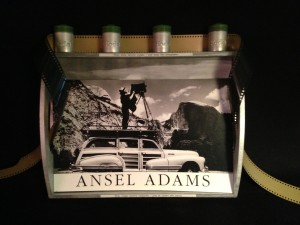 "Ansel Adams, one of America's greatest photographers, who had dyslexia--which affecting his way of seeing the world. As he said, ""When images become inadequate, I shall be content with silence…When words become unclear, I shall focus with photographs."""